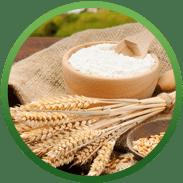 мука и зерно